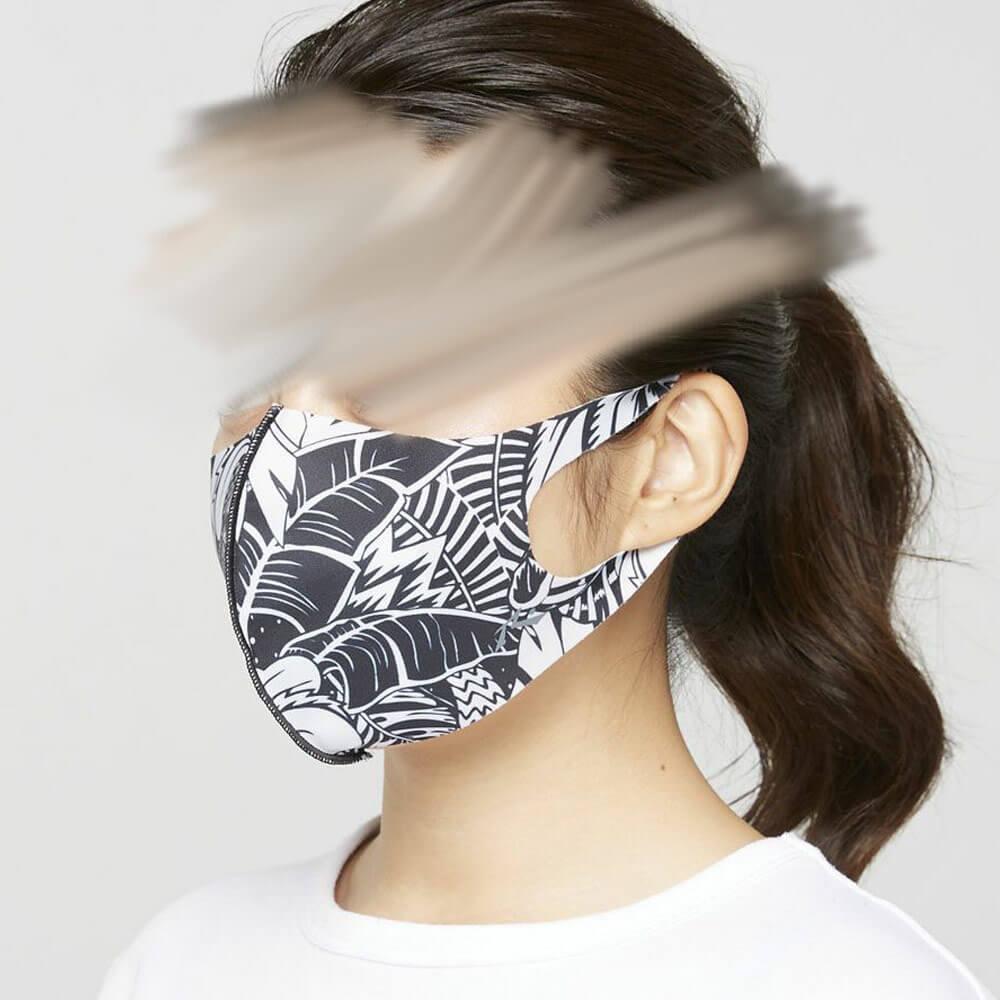 主張の激しいマスク